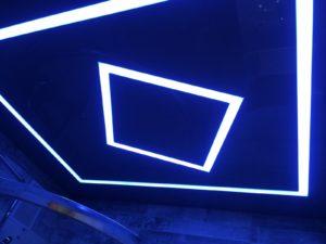Световые полосы в натяжном потолке Рыбинск